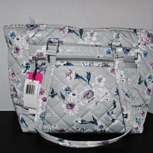 Vera Bradley  Quilted Work Tote  in  Performace Tw